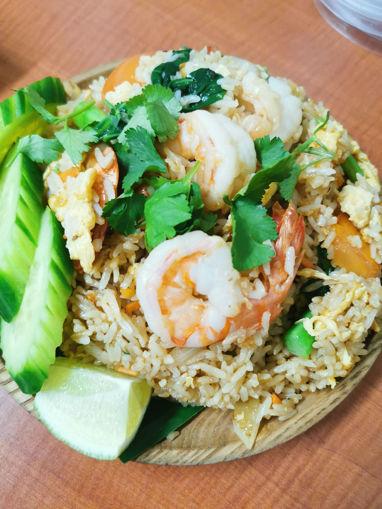 Picture of P23 khao pad thai khung/kai/neua
